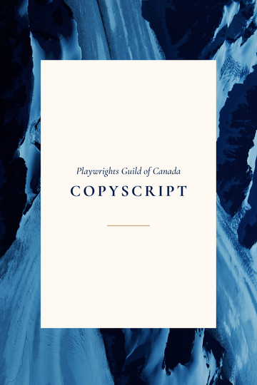 Coyote City, copyscript, (Playwrights Union of Canada)